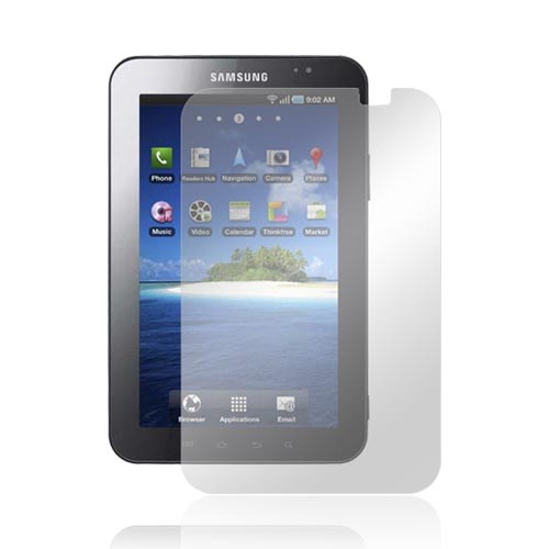 Samsung Galaxy Tab P1000 Screen Protector w/ Mirror Effect