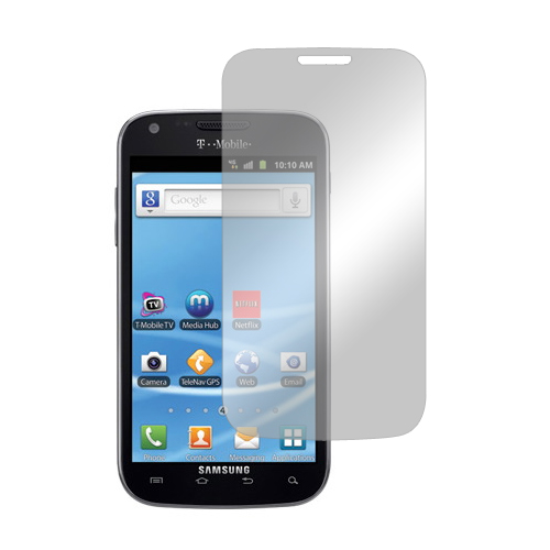 T-Mobile Samsung Galaxy S2 Screen Protector w/ Mirror Effect
