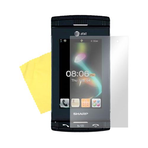 Sharp FX Screen Protector w/ Mirror Effect