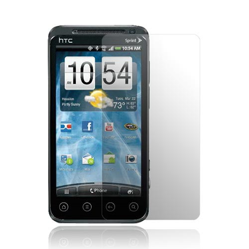 Premium HTC EVO 3D Screen Protector (2 Pack) - Clear