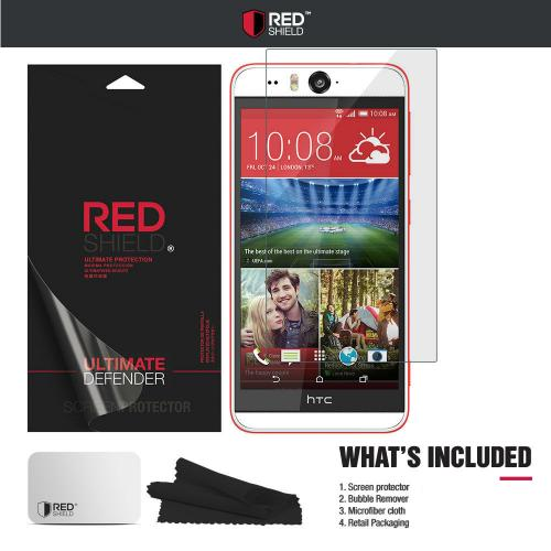 Desire EYE Screen Protector, [Crystal Clear] High Definition Precision-Cut Screen Protector for HTC Desire EYE (2014)