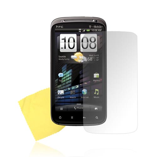 Premium HTC Sensation 4G Screen Protector - Clear