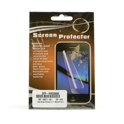 Clear Screen Protector for T-Mobile Prism 2