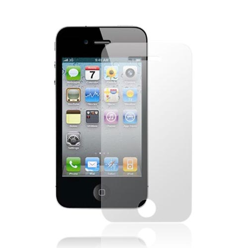 Premium AT&T/Verizon Apple iPhone 4 iPhone 4, iPhone 4S High Quality Front Screen Protector & Back Film
