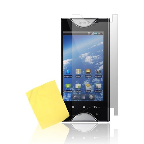 Kyocera Echo Screen Protector Back & Front - Clear