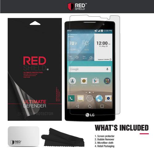LG Escape 2 Screen Protector, REDshield [Crystal Clear] HD Ultra Thin Scratch Resistant, Bubble Free, Protective Screen Guard Film for LG Escape 2