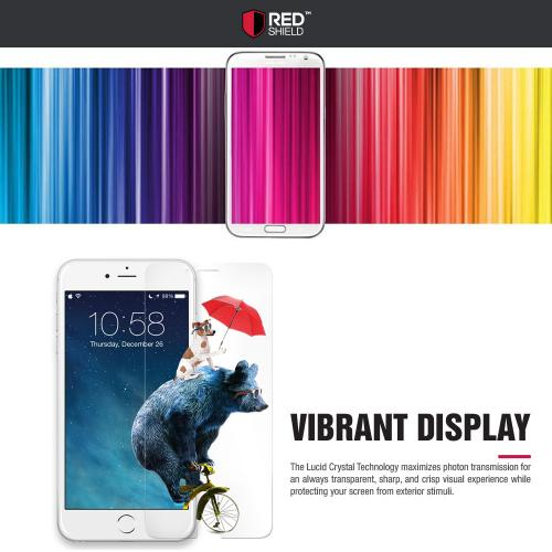 RED SHIELD High Definition Ultra Premium Hammer Strength Clear Screen Protector for LG G Pro 2