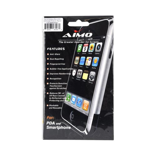 LG Optimus Elite Screen Protector - Clear