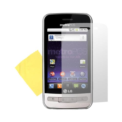 Premium LG Optimus M MS690 Screen Protector