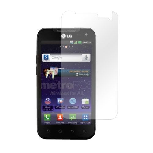 LG Viper 4G LTE/  LG Connect 4G Screen Protector - Clear