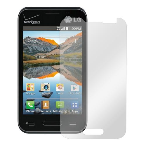 Clear LG Optimus Zone 2/ LG Optimus Fuel Touch Screen Protector - Prevent Those Accidental Scratches!