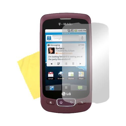 Premium LG Optimus T Screen Protector