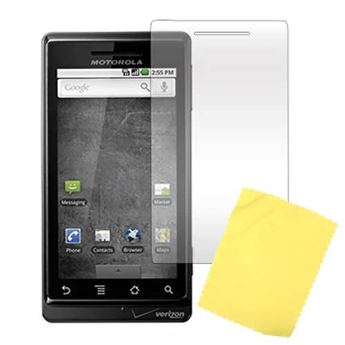 Premium Motorola Droid A855 / Milestone High Quality Screen Protector