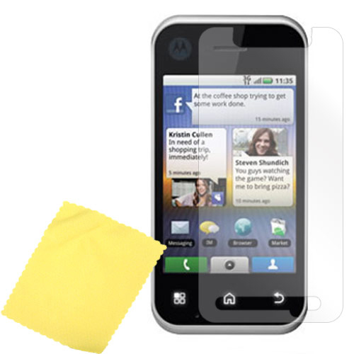 Premium Motorola Backflip MB300 High Quality Screen Protector