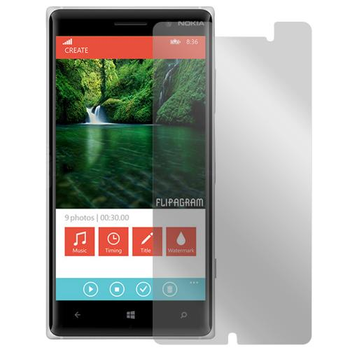Lumia 830 Screen Protector, [Crystal Clear] High Definition Precision-Cut Screen Protector for Nokia Lumia 830