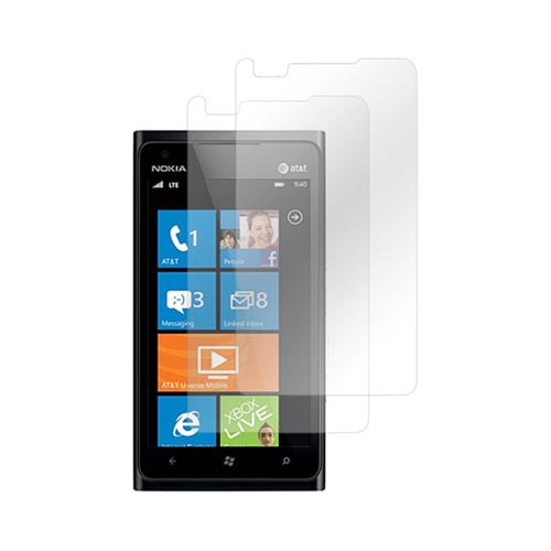 Nokia Lumia 900 Screen Protector - Clear (2 Pack)