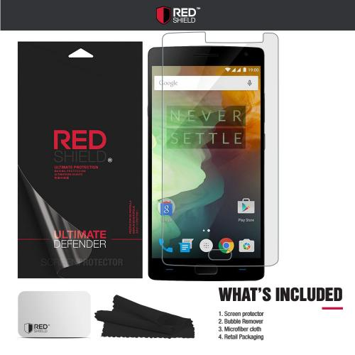 OnePlus 2 Screen Protector,  [Crystal Clear] HD Ultra Thin Scratch Resistant, Bubble Free, Protective Screen Guard Film for OnePlus 2