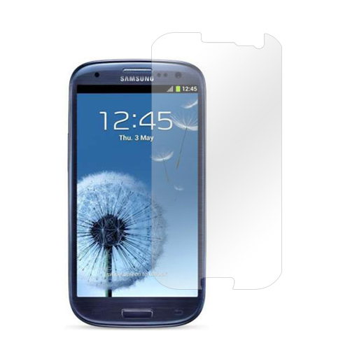 Manufacturers Samsung Galaxy S3 Screen Protector - Clear Screen Protectors