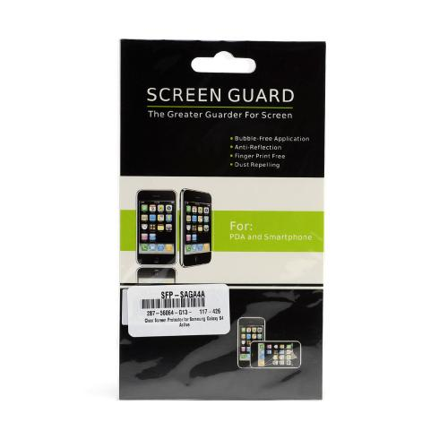 Clear Screen Protector for Samsung Galaxy S4 Active
