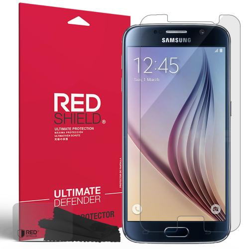 Samsung Galaxy S6 Screen Protector, REDshield [Crystal Clear] HD Ultra Thin Scratch Resistant, Bubble Free, Protective Screen Guard Film