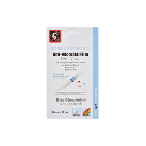 Samsung Galaxy Note Anti-Microbial Screen Protector - Clear