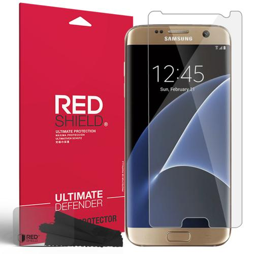 Manufacturers Samsung Galaxy S7 Edge Screen Protector, REDshield [Crystal Clear] HD Ultra Thin Scratch Resistant, Bubble Free, Protective Screen Guard Film Silicone Cases / Skins