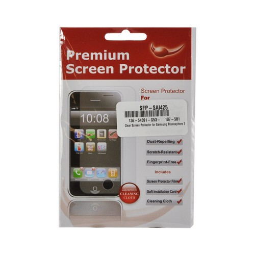 Clear Screen Protector for Samsung Stratosphere 3