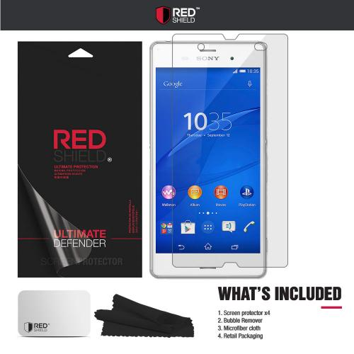 Xperia Z3 Screen Protector, [Crystal Clear] High Definition Precision-Cut Screen Protector for Sony Xperia Z3 (2014)