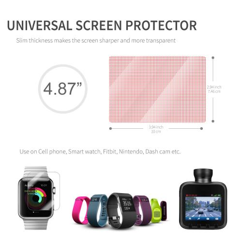 Universal Premium Screen Protector Film - 3 Pack