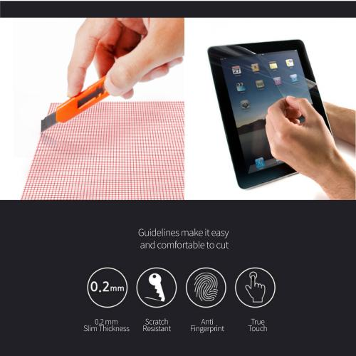 "Tablet Screen Protector w/ Grid for Screens up to 12""!"