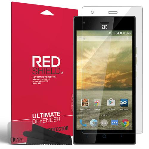ZTE Warp Elite Screen Protector, [Crystal Clear] Anti-Scratch HD Screen Protector Film Guard