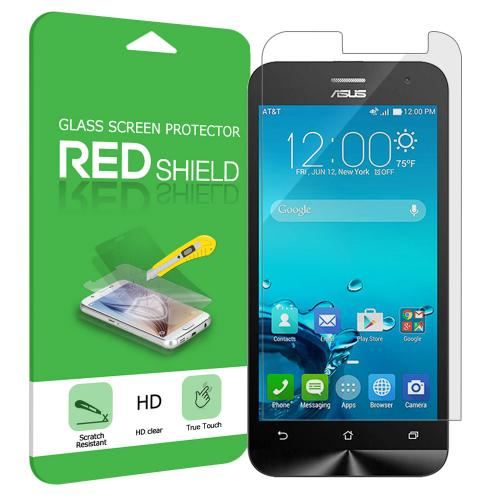 Asus Zenfone 2E Screen Protector, Premium [Tempered Glass] HD Protective Screen Protector Guard