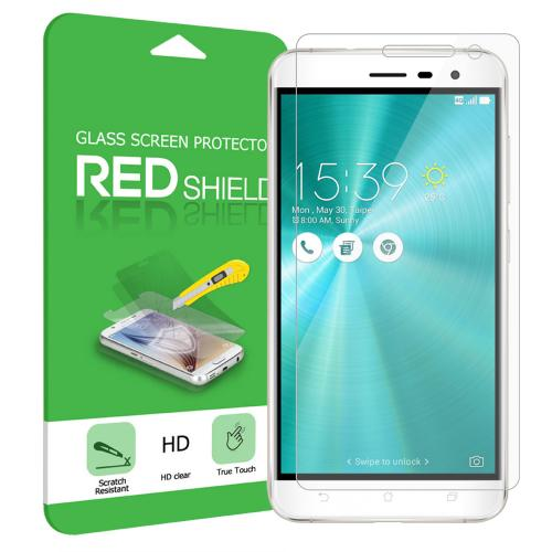 Asus Zenfone 3 Screen Protector, REDshield [Tempered Glass] Ultimate Impact-Resistant Protective Screen Protector