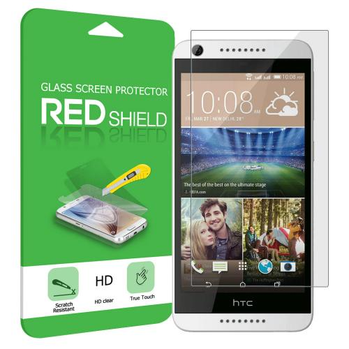 [HTC Desire 626] Screen Protector, Premium HD Protective [Tempered Glass] Screen Protector Guard