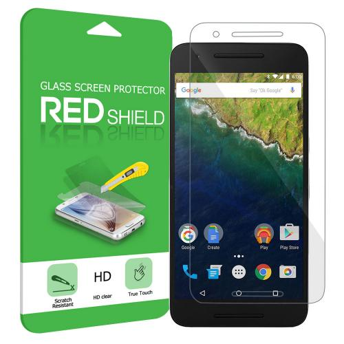 Huawei Google Nexus 6P Screen Protector, Premium HD Protective [Tempered Glass] Screen Protector Guard