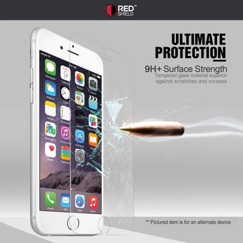 [Apple iPhone SE/5/5S/5C] Screen Protector, REDShield [Tempered Glass] Ultimate Impact-Resistant Protective Screen Protector