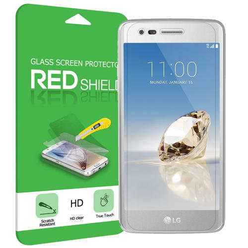 LG Aristo Screen Protector, [Tempered Glass] Ultimate Tempered Glass Impact-Resistant Protective Screen Protector [Does Not Cover Edges]