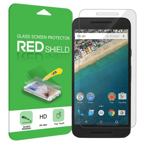 LG Google Nexus 5X Screen Protector, Premium HD Protective [Tempered Glass] Screen Protector Guard