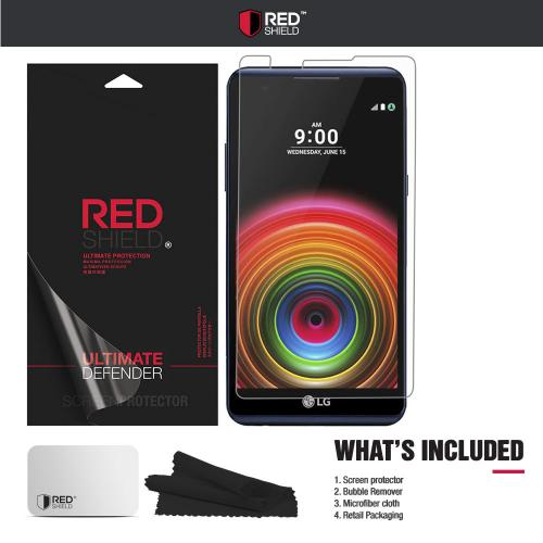 [LG X Power] Screen Protector, [Tempered Glass] Ultimate Impact-Resistant Protective Screen Protector