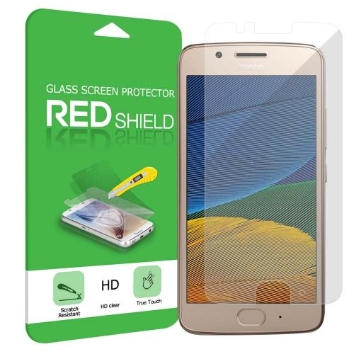 Motorola Moto G5 Screen Protector, [Tempered Glass] Ultimate Tempered Glass Impact-Resistant Protective Screen Protector