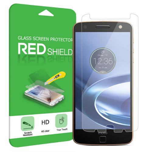 [Motorola Moto Z Force] Screen Protector, [Tempered Glass] Ultimate Tempered Glass Impact-Resistant Protective Screen Protector