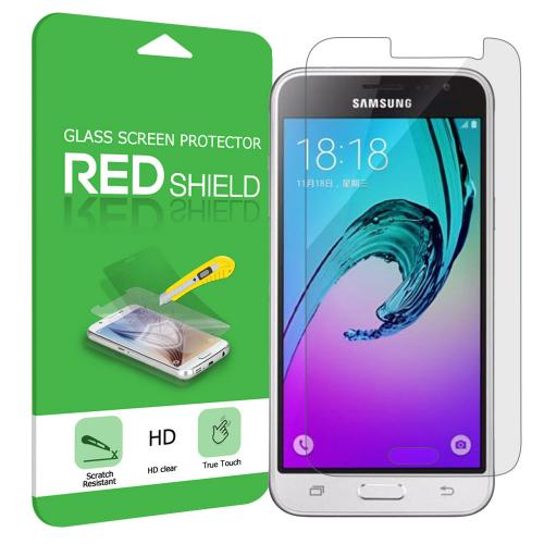 Samsung Galaxy J3 Screen Protector, [Tempered Glass] HD Ultra Thin Drop Proof Anti Scratch Anti Fingerprint Protective Screen Guard Film