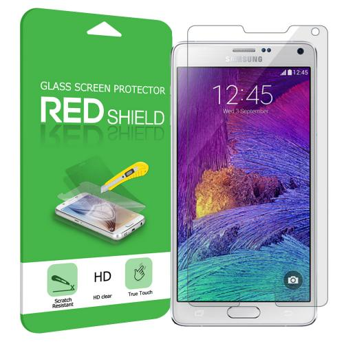 Samsung Galaxy Note 4 Screen Protector, [Tempered Glass] HD Ultra Thin Drop Proof Anti Scratch Anti Fingerprint Protective Screen Guard