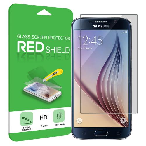 Galaxy S6 Screen Protector, [Tempered Glass] Ultimate Tempered Glass Impact-Resistant Protective Screen Protector for Samsung Galaxy S6