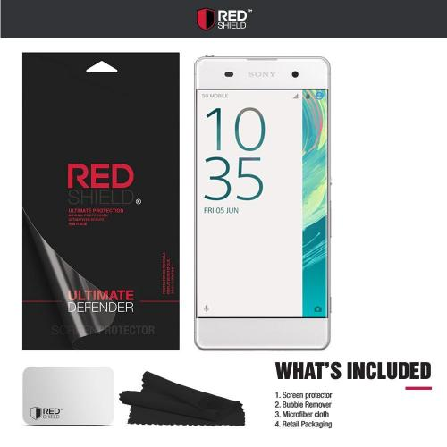 Sony Xperia XA Screen Protector, REDshield [Tempered Glass] Ultimate Tempered Glass Impact-Resistant Protective Screen Protector