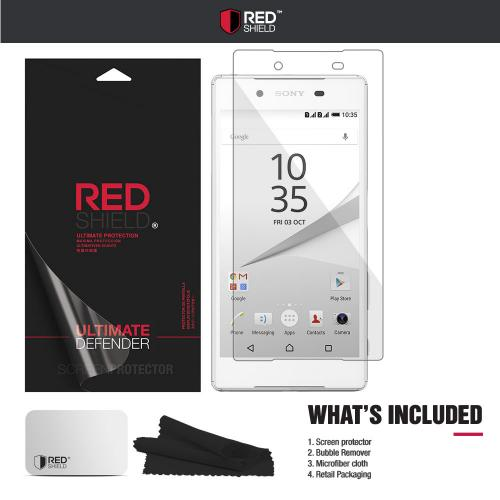 Sony Xperia Z5 Screen Protector, [Tempered Glass] Ultimate Tempered Glass Impact-Resistant Protective Screen Protector