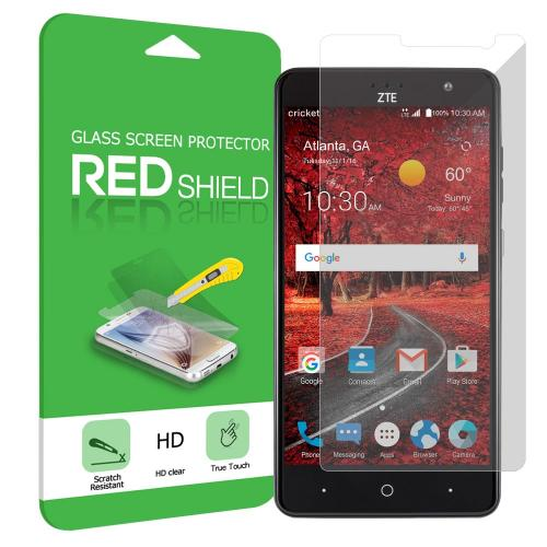 ZTE Grand X 4 Screen Protector, [Clear] Ultimate Tempered Glass Impact-Resistant Protective Screen Protector