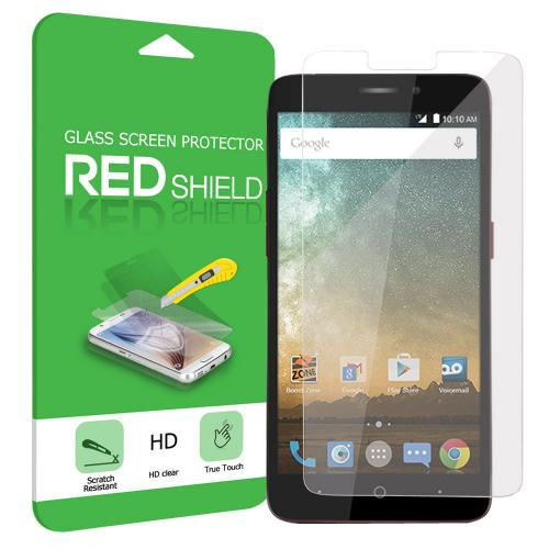 ZTE Prestige/ ZTE Avid Plus Screen Protector, [Tempered Glass] Ultimate Tempered Glass Impact-Resistant Protective Screen Protector