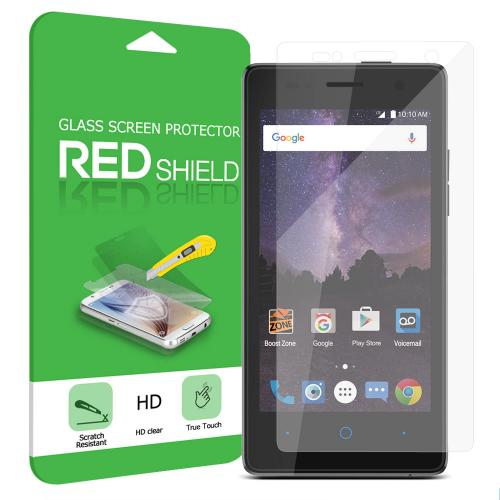 ZTE Tempo Screen Protector, [Tempered Glass] Ultimate Tempered Glass Impact-Resistant Protective Screen Protector