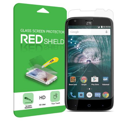 ZTE Warp 7 Screen Protector, [Tempered Glass] Ultimate Tempered Glass Impact-Resistant Protective Screen Protector [Does Not Cover Edges]